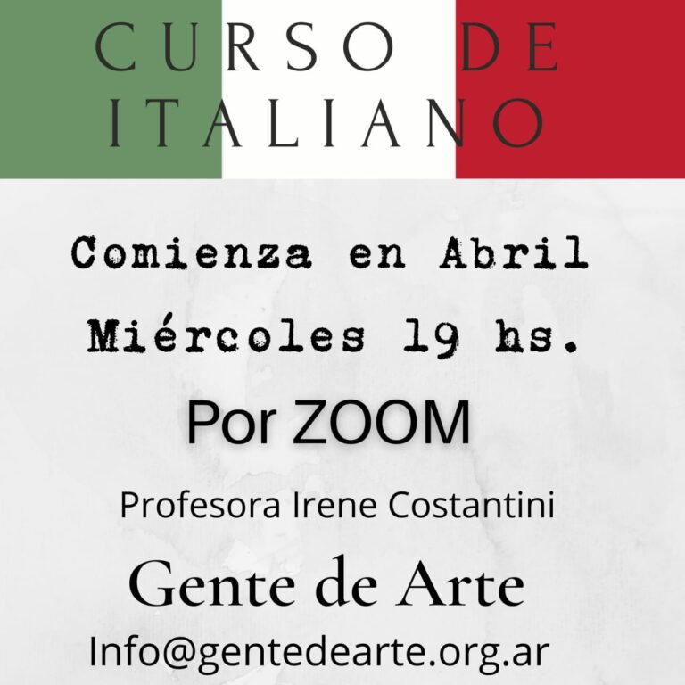Idioma italiano online 2021