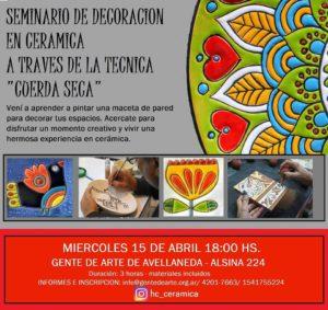 seminario de cerámica